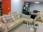Leather/Fabric Sofa Lshap(Turkish) | Furniture for sale in Abuja (FCT) State, Wuse