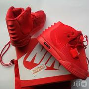 Nike Air Yeezy Red October Sneakers | Shoes for sale in Lagos State, Ojo