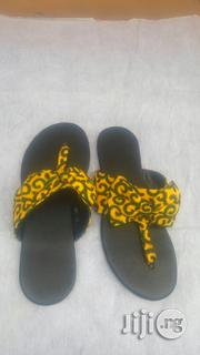 Ankara Female Slippers | Shoes for sale in Lagos State, Ojodu