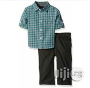 Tommy Hifigher Shirt and Trouser for Baby Boy | Children's Clothing for sale in Lagos State, Ikeja