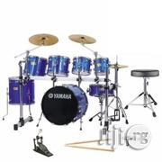 Yamaha 7 Set Professional Drum Set-blue | Musical Instruments & Gear for sale in Lagos State, Lagos Mainland