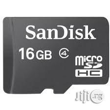 Class 4 Low Cost SD Memory Card. All GB Available