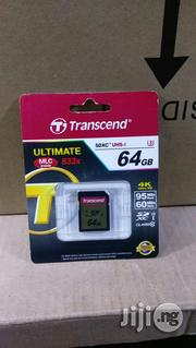 Trascend Ultimate Sdxc 64GB | Computer Accessories  for sale in Lagos State, Ikeja