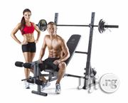 Gold's Gym XR 10.1 Olympic Weight Bench With 140kg Weight | Sports Equipment for sale in Lagos State, Surulere