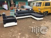 L Shaped Sofa With A Single | Furniture for sale in Lagos State, Ifako-Ijaiye
