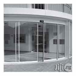 Frame-less Automatic Sliding Doors