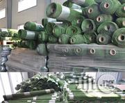 Imported Synthetic Artificial Turf (Fairly Used) | Garden for sale in Lagos State, Ikeja