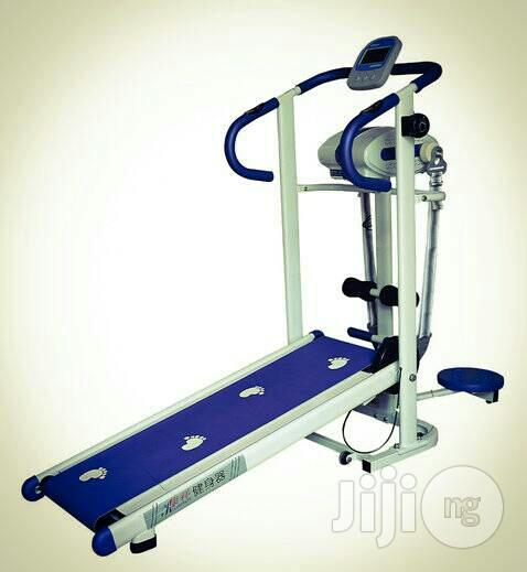 Manual Treadmill With Massager