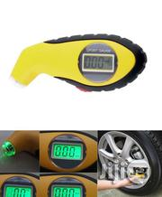 Digital Tyre Gauge-yellow. | Vehicle Parts & Accessories for sale in Lagos State, Ikeja