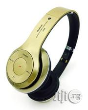 Headphone With Bluetooth Stereo, FM , Memory Card to Play Music | Headphones for sale in Lagos State, Ikeja