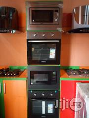 Phima Slver and Black Cabinet Oven Microwave With 2yrs Wrty. | Kitchen Appliances for sale in Lagos State, Ojo