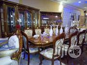 Complete Royal Adjustable Wooden Dining Set. 1+10 | Furniture for sale in Lagos State, Ojo
