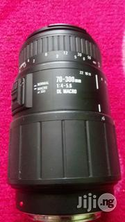 Sigma 70-300mm Lens for Dslr Cameras | Accessories & Supplies for Electronics for sale in Lagos State, Ikeja
