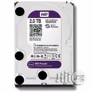 WD Purple 2.0 Terabyte CCTV Surveillance HDD | Computer Hardware for sale in Lagos State, Ikeja