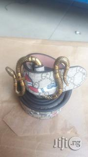 Original Gucci Snake Belt | Clothing Accessories for sale in Lagos State, Surulere