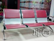 3seater Office Waiting Chairs With Leather | Furniture for sale in Lagos State, Victoria Island