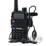 Baofeng Dual Band Two Way Radio - UV-5R - Black | Audio & Music Equipment for sale in Lagos State, Lagos Mainland