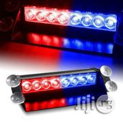 8 LED Visor Dashboard Emergency Strobe Lights - Blue & Red | Photo & Video Cameras for sale in Lagos State, Lagos Mainland