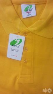 Yellow Rebrandable Polo T-shirts | Clothing for sale in Lagos State, Lagos Island