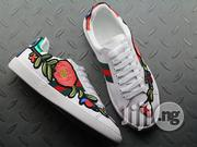 Gucci Female Sneaker Ace Embroidered - Flower Design | Shoes for sale in Lagos State, Ikeja