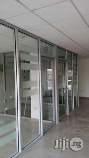 Aluminium Partition And Glass System | Windows for sale in Lagos State, Ikeja