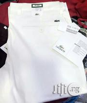 Lacoste Chinos Trouser Original | Clothing for sale in Lagos State, Victoria Island