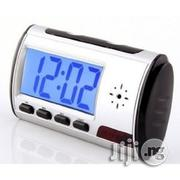 Spy Camera Table Clock, Microsd Memory Card Support 32GB | Security & Surveillance for sale in Lagos State, Ikeja