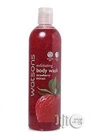 Watson Exfoliating Body Wash Strawberry Extract | Bath & Body for sale in Lagos State, Lagos Mainland