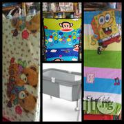 Baby Cartoon Character Play Pen/Cot Mattress | Children's Furniture for sale in Lagos State, Alimosho