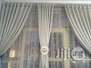 The Gold Design Highlength Curtain | Home Accessories for sale in Lagos State, Yaba