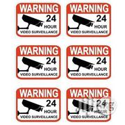 Video Surveillance Stickers Sign | Photo & Video Cameras for sale in Ondo State