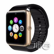 A Phone Watch Having A SIM Card Slot And Camera Black Gold Silver | Watches for sale in Lagos State