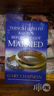 Things I Wish I'd Known Before We Got Married | Books & Games for sale in Lagos State, Surulere