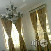 The Gold Design Curtain | Home Accessories for sale in Lagos State, Yaba