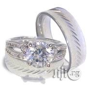 OK Elegant Silver Titanium Wedding Bands | Wedding Wear for sale in Lagos State, Lagos Mainland