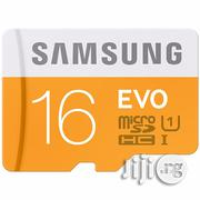 Samsung 16GB Micro SD Card | Accessories for Mobile Phones & Tablets for sale in Lagos State, Ikorodu