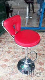 High Quality Executive Unique Wine Leather Bar Stool | Furniture for sale in Lagos State, Ojo