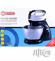 Master Chef Hand Mixer With Rotating Stainless Bowl -   Kitchen Appliances for sale in Lagos State