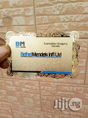 Innovative Metal Business Card That Will Truly Represent Your Company | Stationery for sale in Lagos State, Ikeja