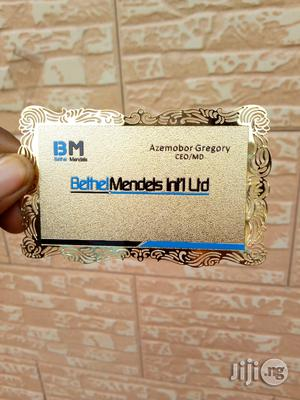 Innovative Metal Business Card That Will Truly Represent Your Company