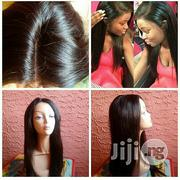 Straight Human Hair Wig With Closure | Hair Beauty for sale in Lagos State, Ikeja