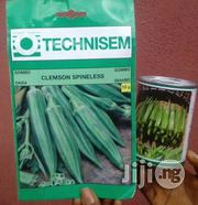 Lima F1 And Clemson Spineless Hybrid Okro Seeds For Sale | Feeds, Supplements & Seeds for sale in Delta State, Warri South-West