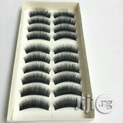 New 10 Pairs Thick Eyelash With Glue | Makeup for sale in Edo State, Benin City