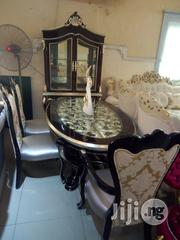 Royal Wooden Dining Table by 6. | Furniture for sale in Lagos State, Ojo