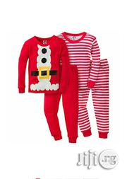 Gerber 4 Piece Unisex Toddler 4 Pc Pjamas | Children's Clothing for sale in Lagos State, Ikeja