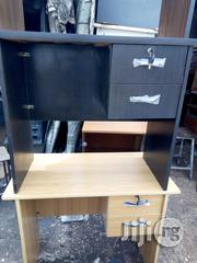 3feet Office Table Black and Beech Color | Furniture for sale in Lagos State, Lagos Mainland