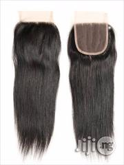 Straight Brazilian Lace Closure Human Hair 10, 12, 14 Inches | Hair Beauty for sale in Lagos State