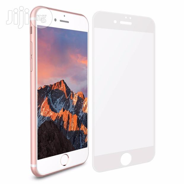 Archive: Full Cover Tempered Glass 3D Screen Protector For iPhone 8 Plus - Whit