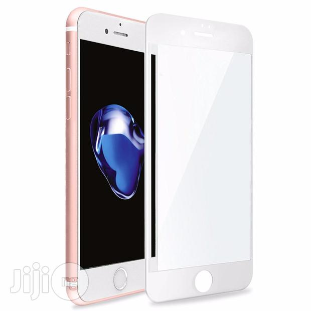 Archive: Full Cover Tempered Glass 3D Screen Protector For iPhone 8 - White
