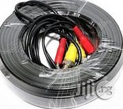 CCTV Camera Cable 50m With BNC And Power Connectors | Accessories & Supplies for Electronics for sale in Lagos State, Ikeja